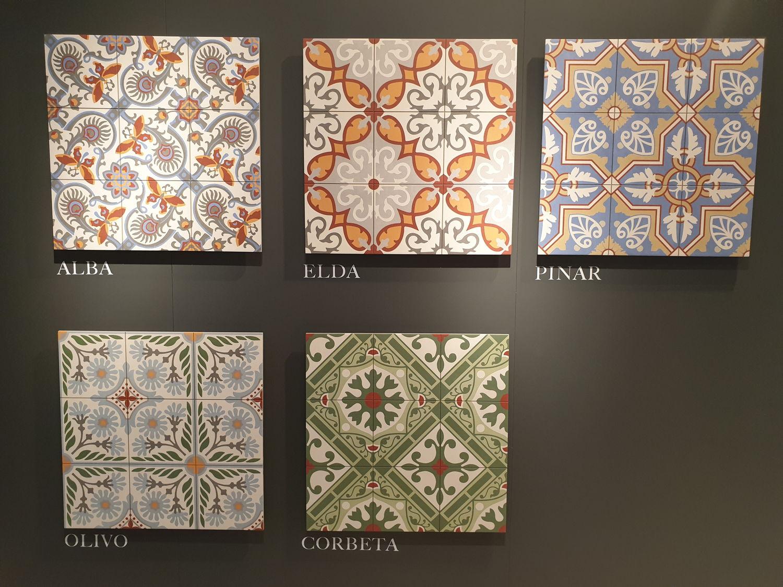 Płytki podłogowe Aparici Altea - kolorowy patchwork