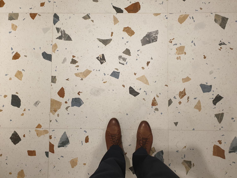 Kolekcja Arcana Stracciatella - płytki podłogowe imitujące lastryko