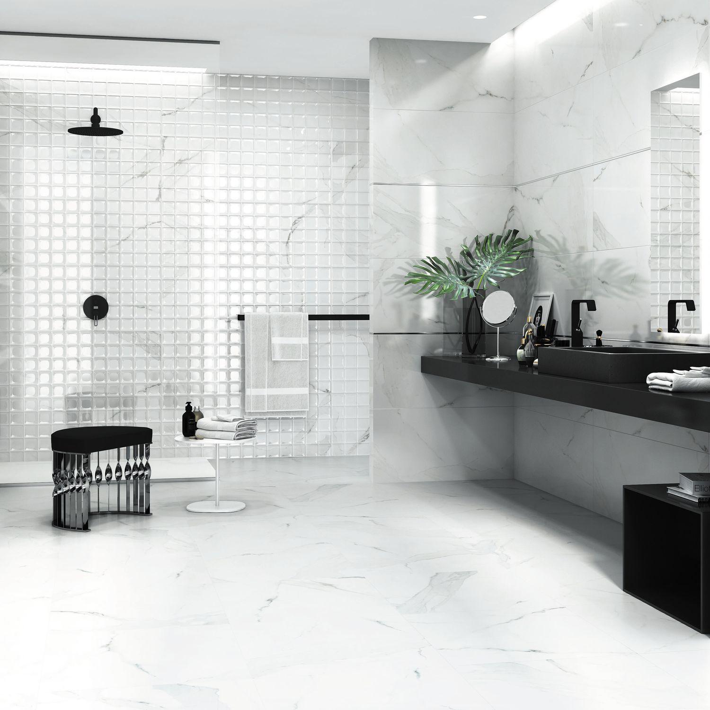 Płytki Imitujące Marmur W łazienkach Carreapl
