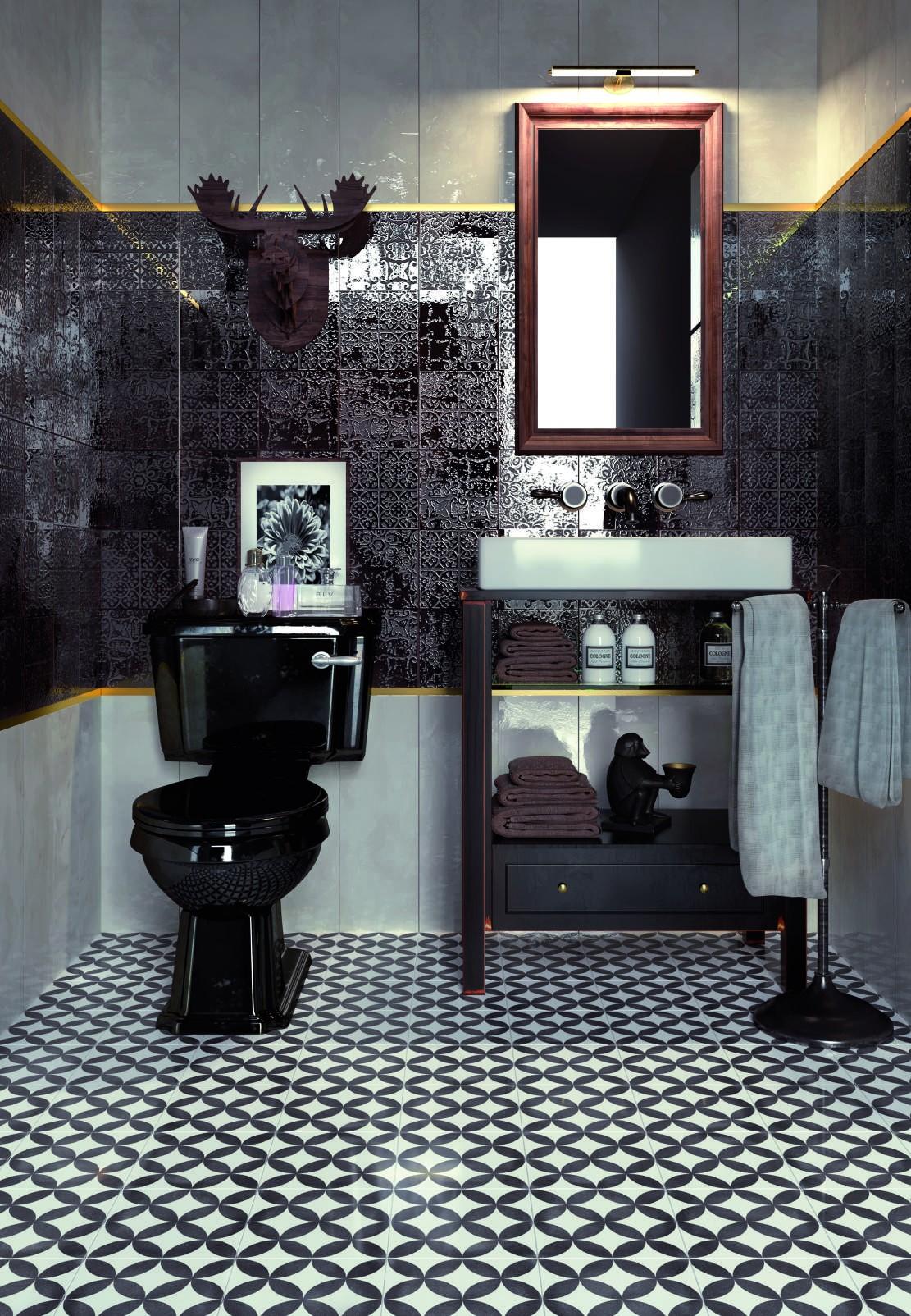 płytki patchwork łazienkowe