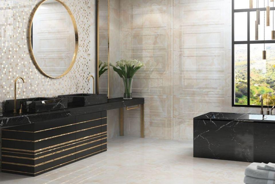 Łazienka w stylu glamour - Monaco Aparici