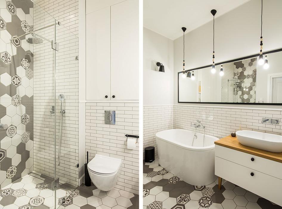 Płytki Heksagonalne Do łazienki