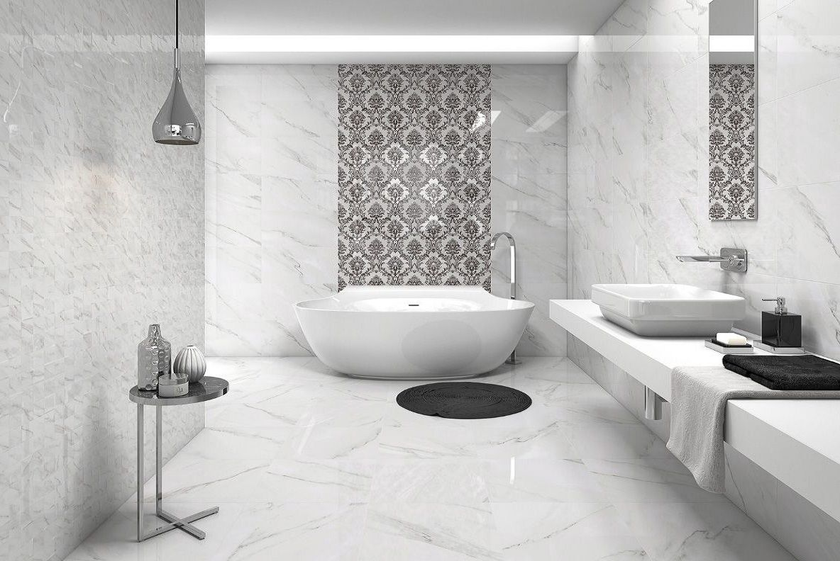 łazienka Biały Marmur Carreapl
