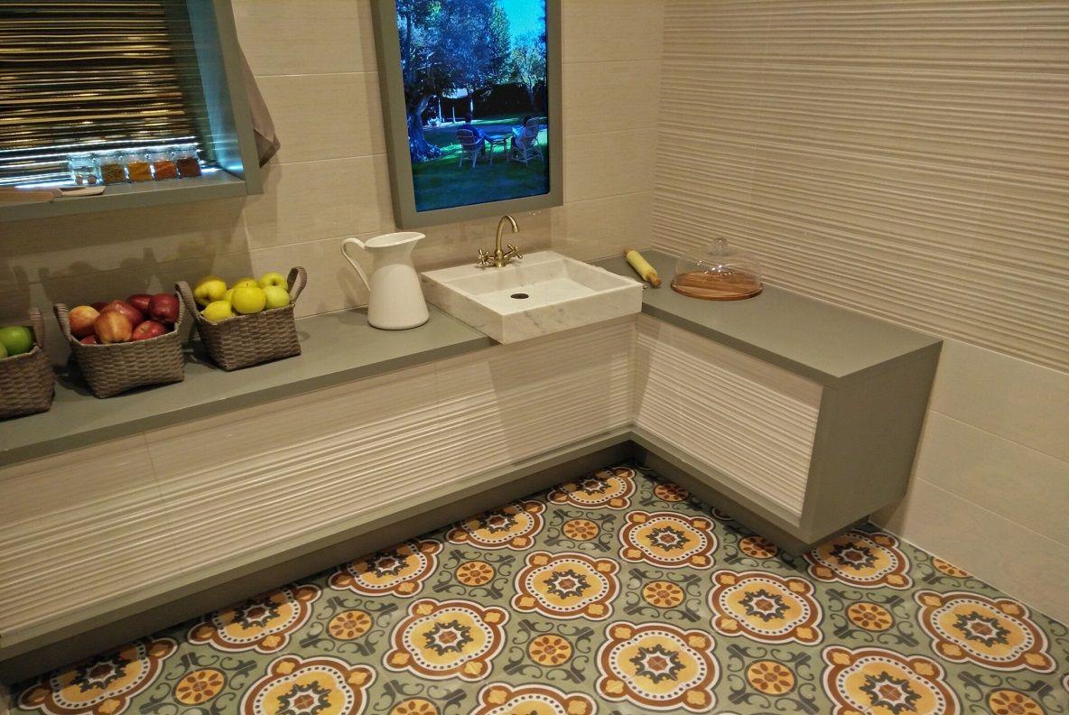płytki patchwork do kuchni