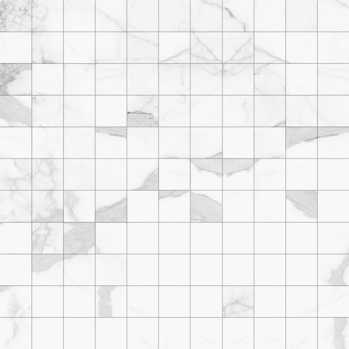 Peronda mozaika na ściane 30x30 biały marmur w połysku do lazienki kuchni salonu