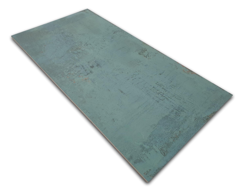 Aparici Aparici Metallic Green Natural 49.75x99.55 płytki podłogowe turkusowe