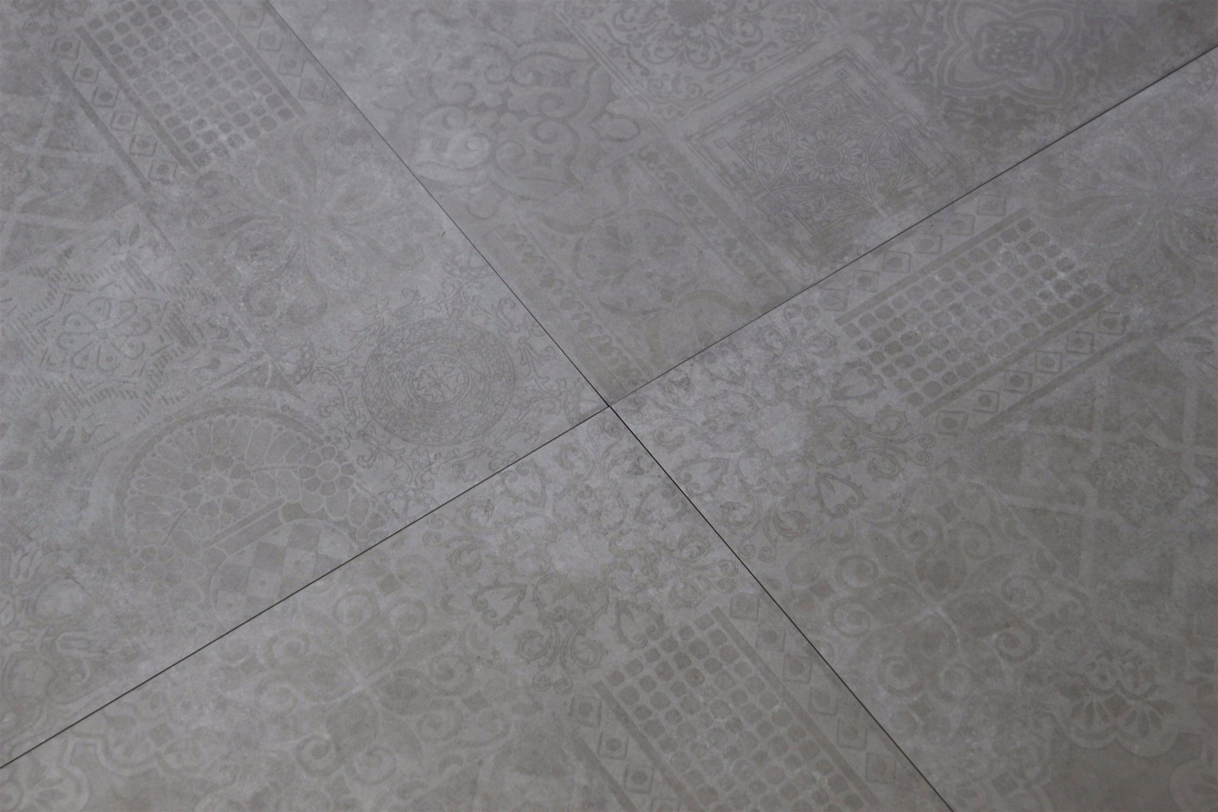 płytki szare patchwork 60x60 Icon Silver Patchwork abitare