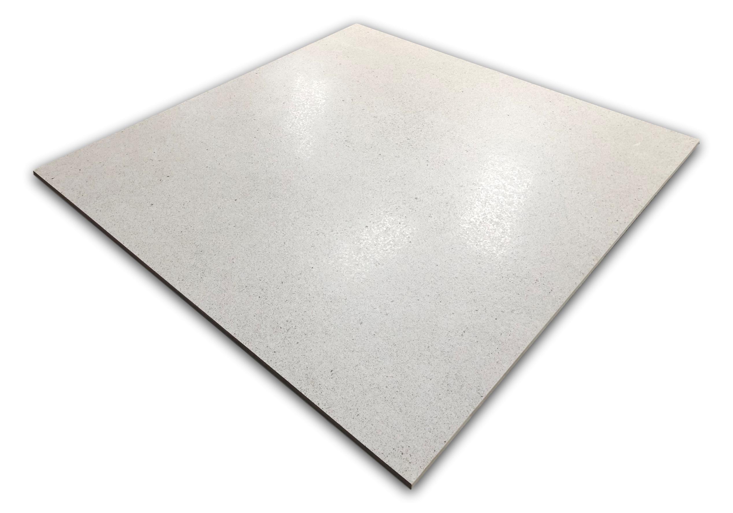 argenta pure basalt white 75x75