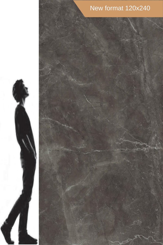 grafitowe płyty xxl  spieki kwarcowe 120x240 Bayona Grey Natural Baldocer