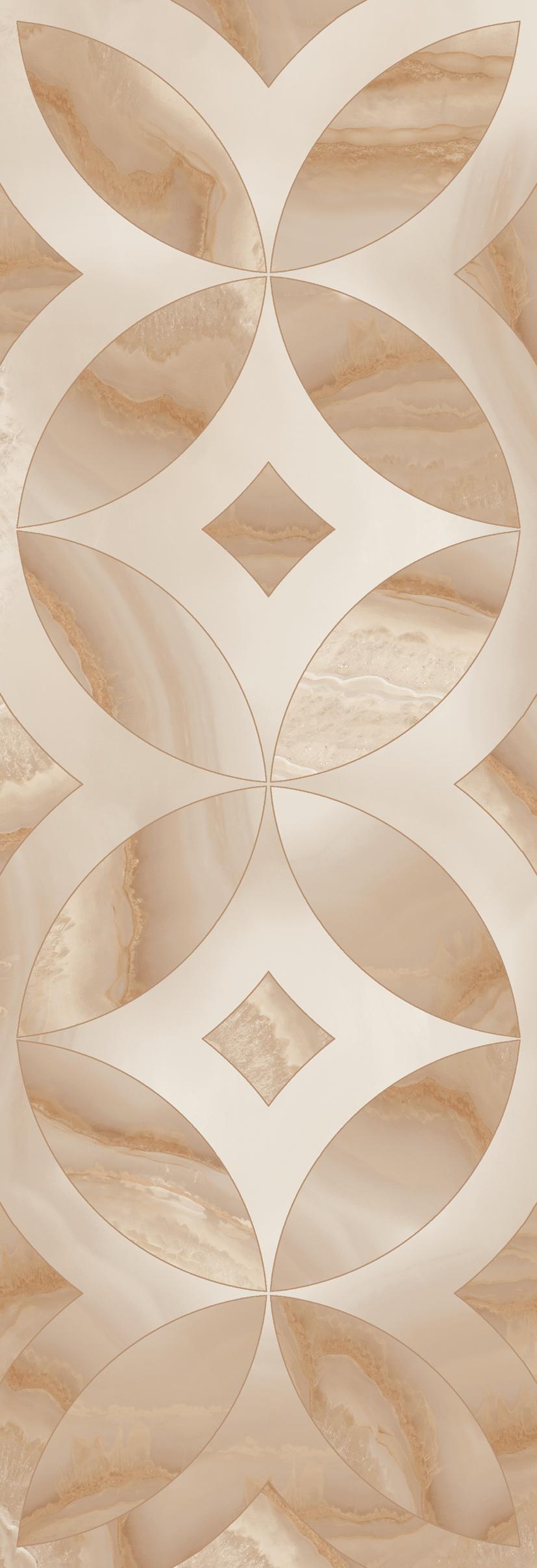 płytka gresowa dekoracyjna 30x90  Aparici Beyond Beige Decor