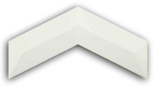 3D Chevron Beryl 13x25 płytki ścienne cegła
