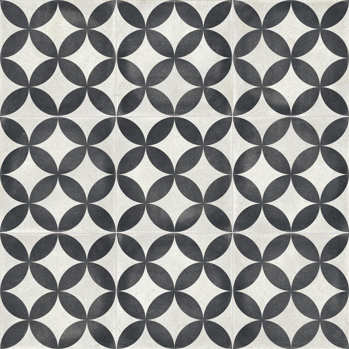 płytki dekoracyjne w stylu patchwork podłogowe Bondi Connect Natural aparici