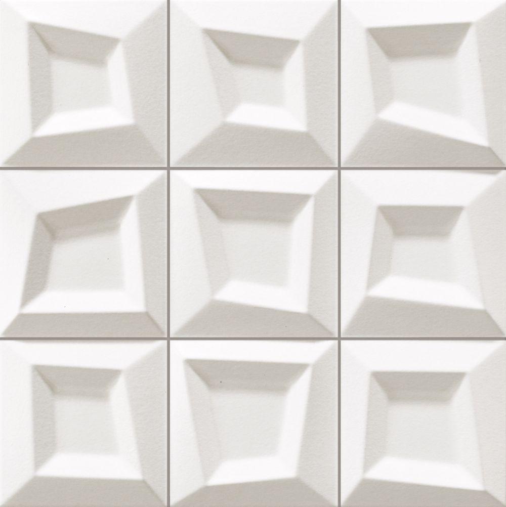 kafelki na ściane białe matowe płytki do łazienki salonu kuchnia 33x33 gres