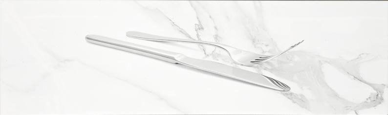 płytki dekoracyjne kuchenne 25x75 Aparici Cutlery Decor B