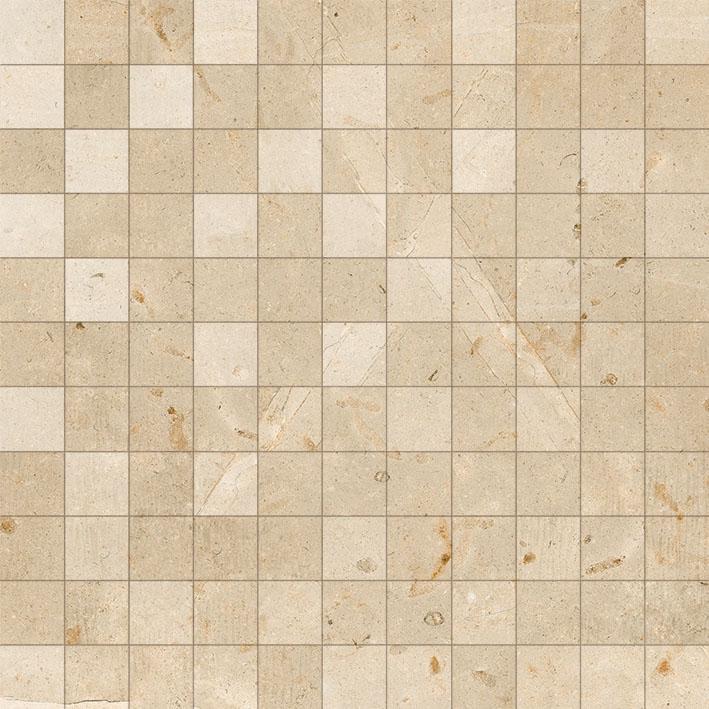 Peronda mozaika na ściane 30x30 płytki do łazienki kuchni salonu  bezowy marmur wysoki połysk