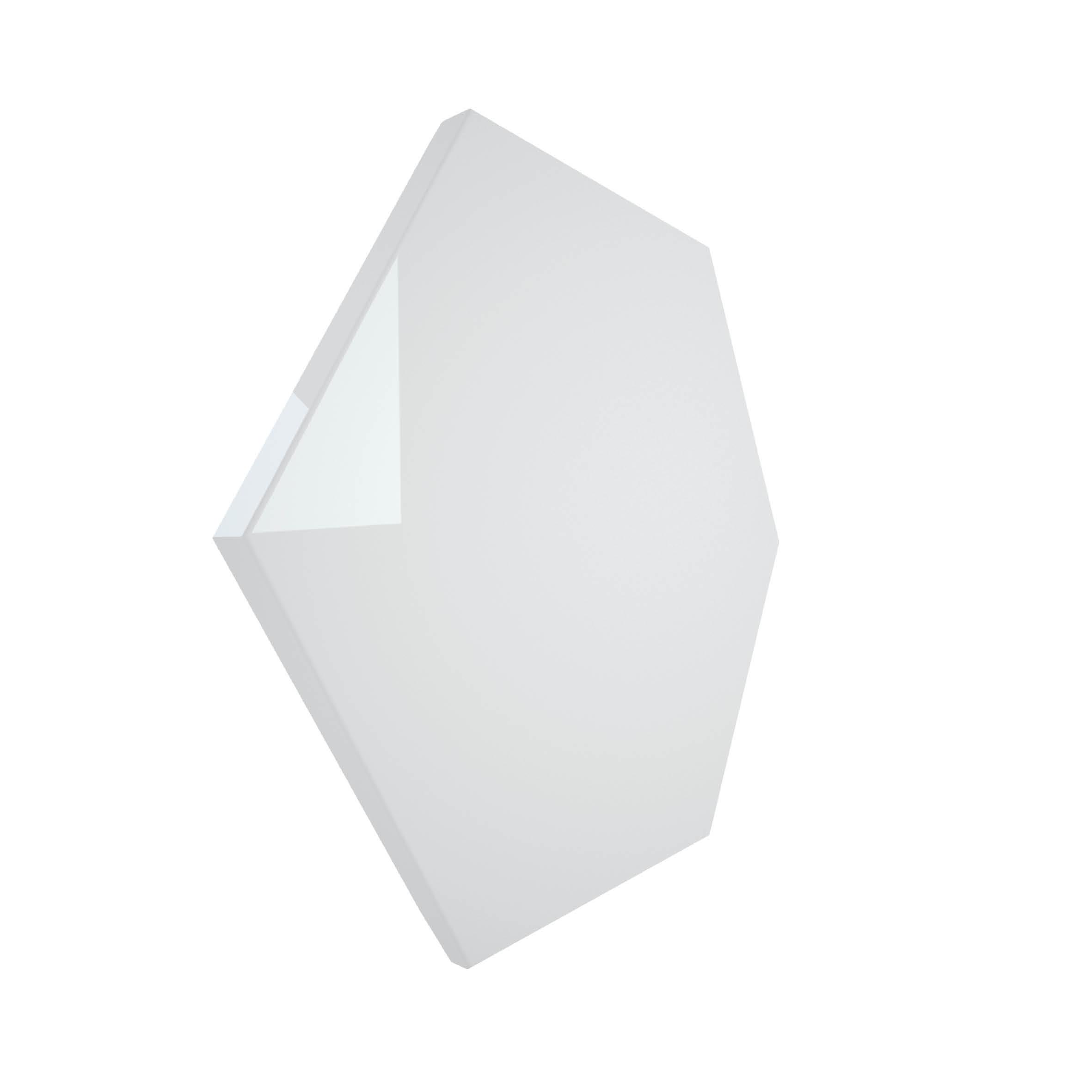 wow desogn heksagon na ściane nowoczesne wnęrze