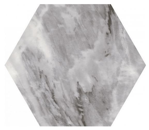 equipe hexagon na podłoge ściane płytki do łazienki kuchni szare matowe 17,5x20