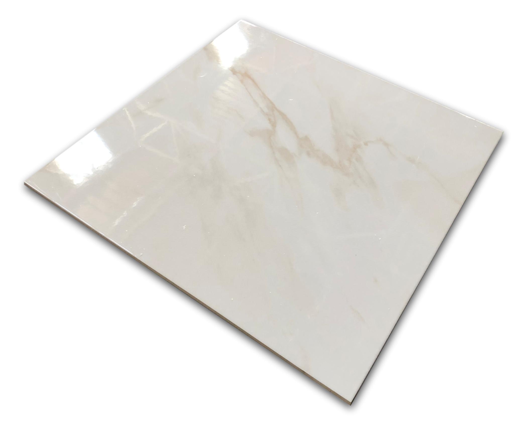 kafle gresowe w połysku 60x60 Calacatta Blanco geotiles
