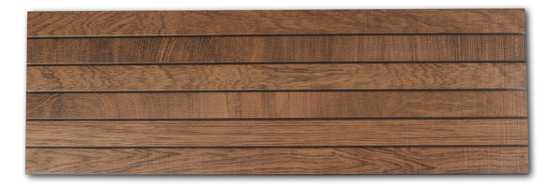 Płytka drewnopodobna w kolorze ciemnego brązu Liston Oxford Cognac 31,6x90