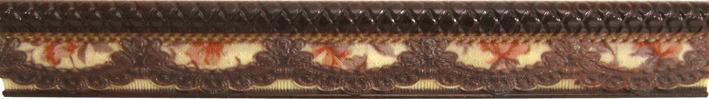 listwa dekorcyjna ceramiczna aparici Lace Moldura
