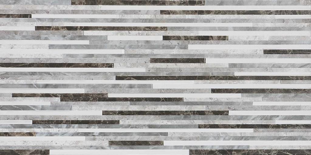 płytki grafitowe dekoracyjne 25x50 Lineal Grafito Geotiles