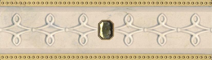 listwa ceramiczna dekoracyjna Listwa dekoracyjna Milo Beige CF 8,8x29,75