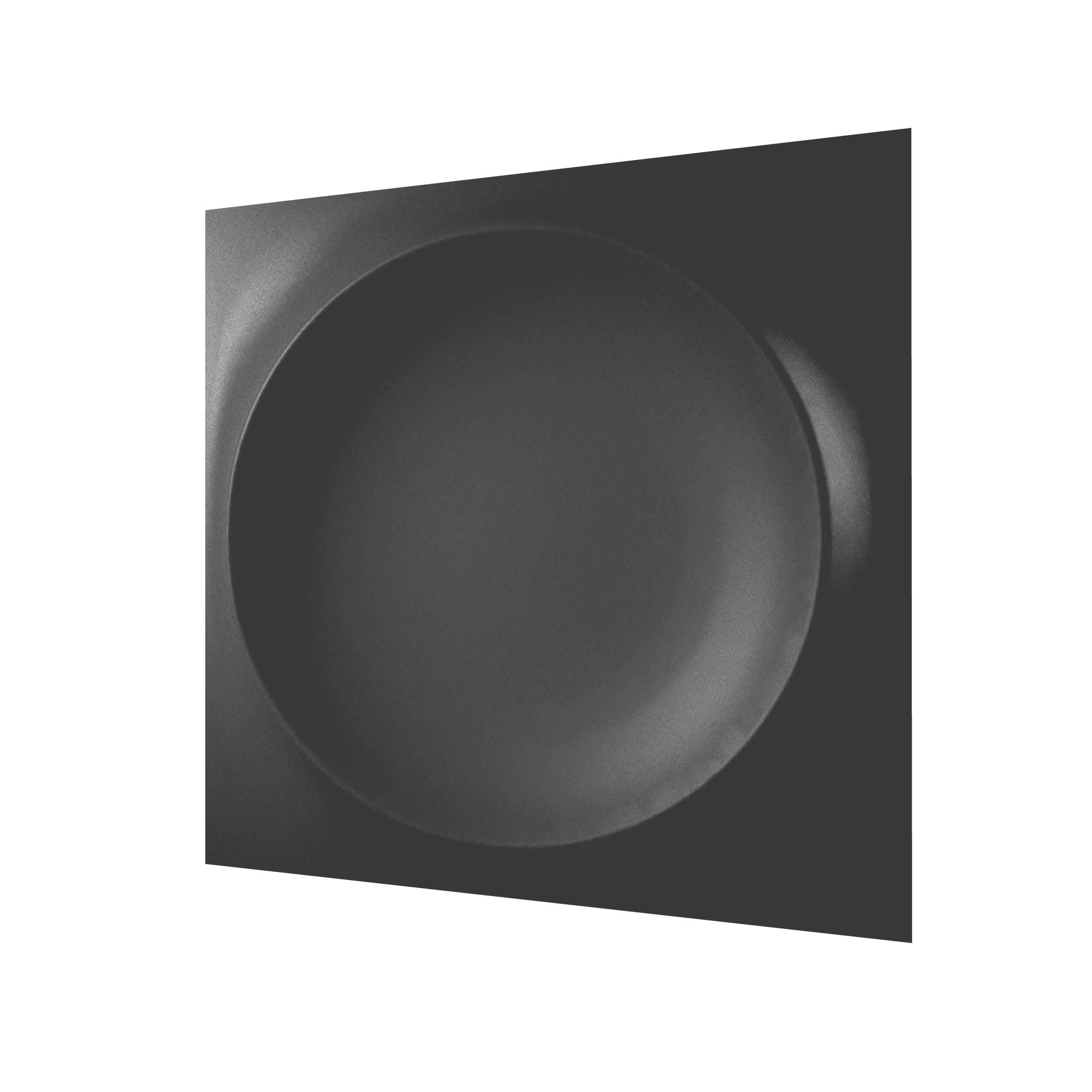 wow design płytka dekoracyjna czarna 12x12