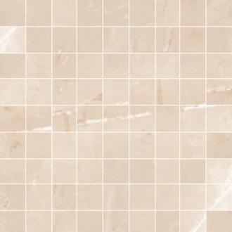 mozaika na siatce beżowa 30x30 Emerita Light Argenta