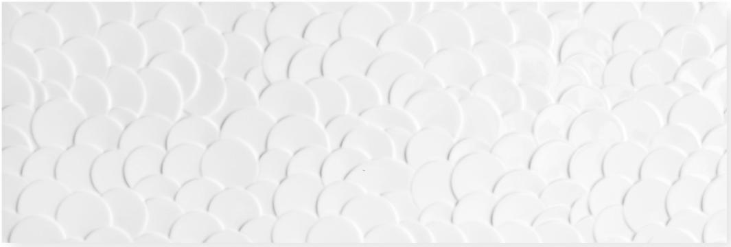 płytki ścienne 30x90 połysk rektyfikowane Aparici Nordic Blanco Shell