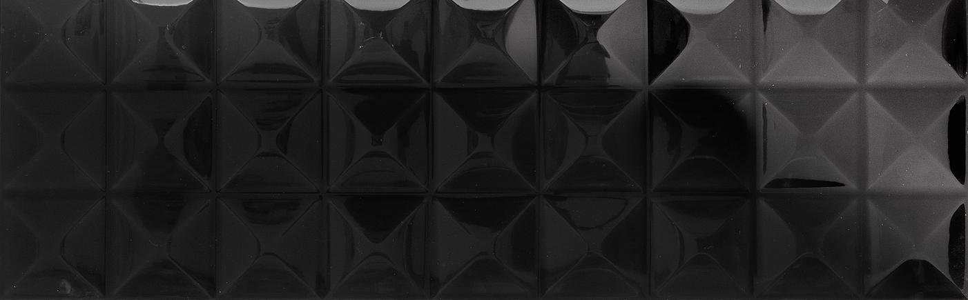 Płytki Aparici Nordic Negro Guiza 29,75X89,46 łazienkowe czarne 3d