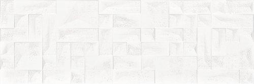 Baldocer białą płytka na ściane Tetris Mont Blanc 40x120