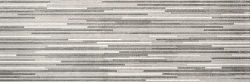 Baldocer 33x100 płytki ścienne terakota klasyczna minimalistyczna łazienka salon kuchnia satyna struktura Decor Lamas Reprise Gris 33,3x100