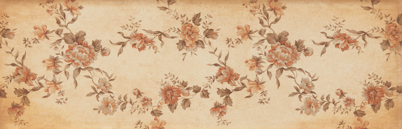 płytki z kwiatami dekoracyjne Scarlett Beige Ornato aparici
