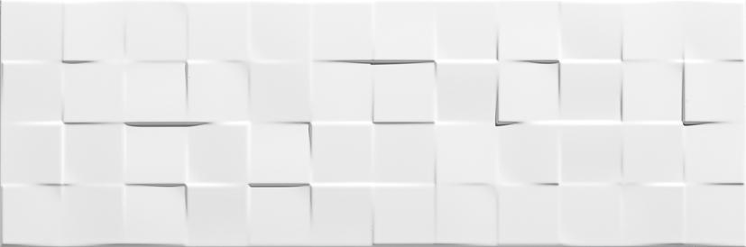 płytki ścinne 25x75 Płytki Aparici Solid White Check