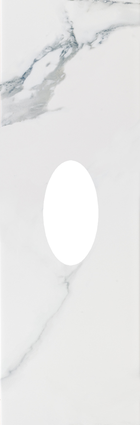 płytka dekoracyjna 25x75 Aparici Statuario Blanco B Insert