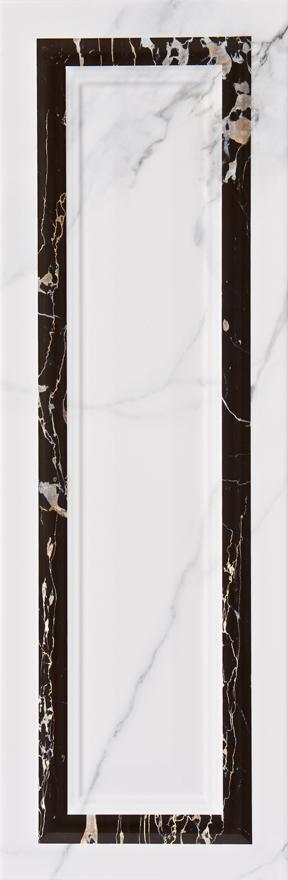 płytki dekoracyjne 25x75  Aparici Statuario Blanco Ornato boazeria