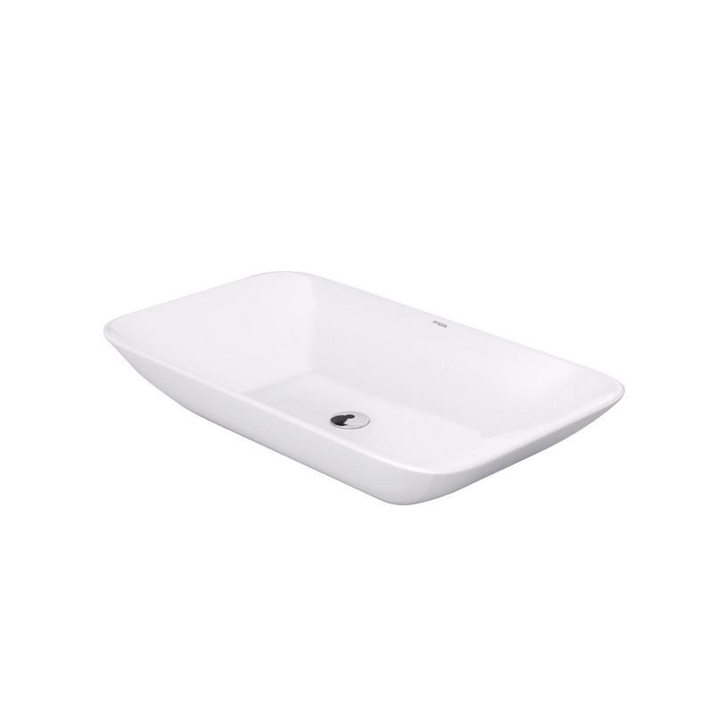 biała umywalka nablatowa massi umywalka prostokątna