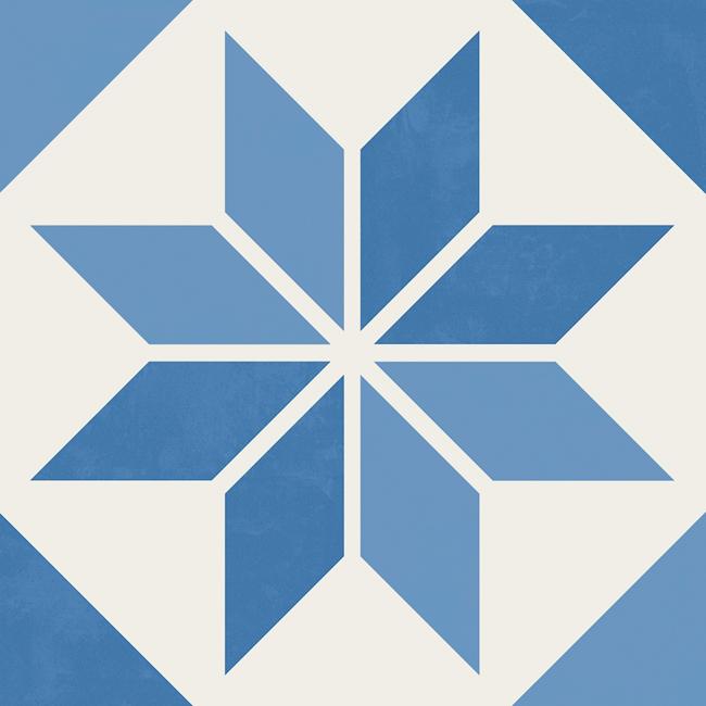 Płytki Aparici Vanguard System 20x20 patchwork niebieskie