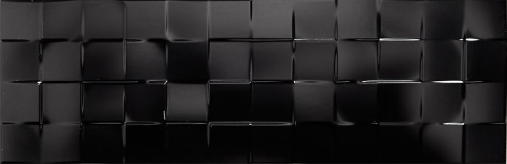 Solid Black Check 251x756