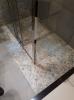 prysznic z płytkami carpet vestige natural 100x100