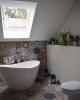 kolorowe płytki hexagonalne do łazienki patchwork