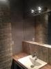 realizacja łazienki z płytkami carpet vestige natural