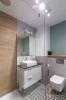 płytki patchwork podłogowe nowoczesna łazienka