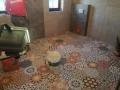 kolorowe płytki patchwork podłogowe