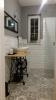 płytki cegiełki białe scienne do łazienki