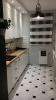 płytki podłogowe vives octagono alaska w kuchni białe