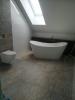 nowoczesna łazienka z wanna wolnostojącą