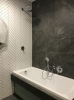 płytki szary marmur do łazienki 60x120 scienne