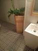 płytki biało czarne patchwork podłogowe do łazienki