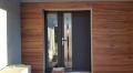 płytki drewnopodobne na elewacji zewnetrznej domu